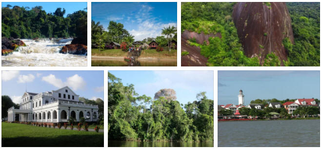 Suriname Energy and Environment Facts